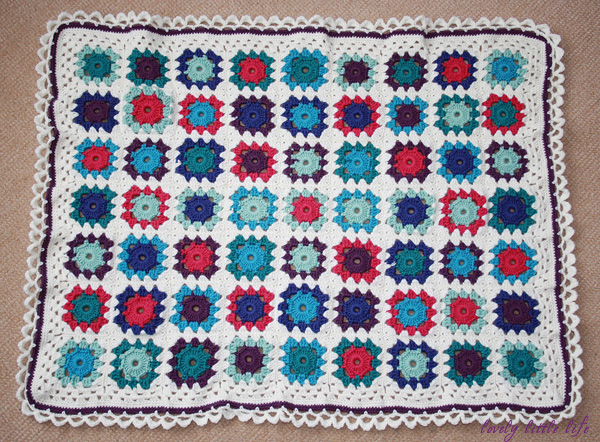 Post image for merino baby blanket