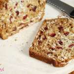 Cranberry, Oat & Honey Bread