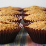 Breakfast Banana Oat & Honey Muffins
