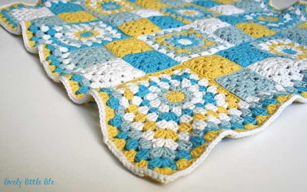Post image for baby boy blanket