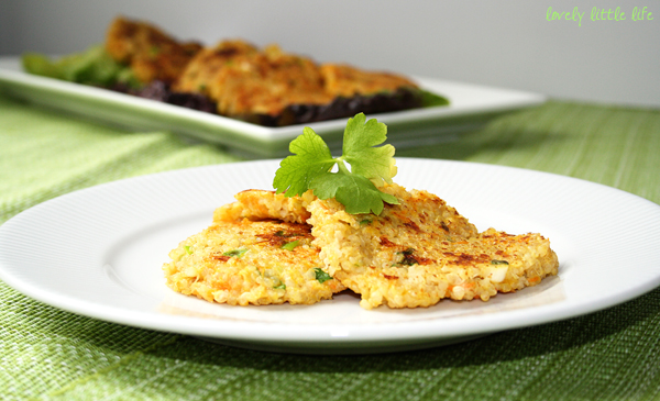 Post image for Quinoa Fritters