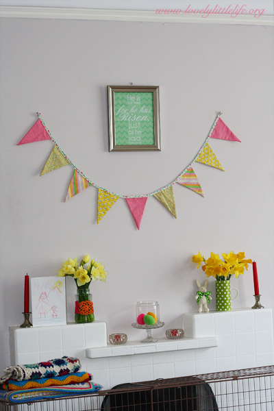 complete easter mantle