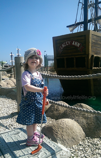 Pirate Miniature Golf Course