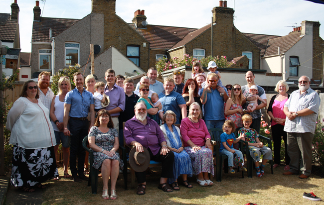 Nans 80th Group shot