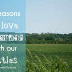 8 reasons we love camping with our littles